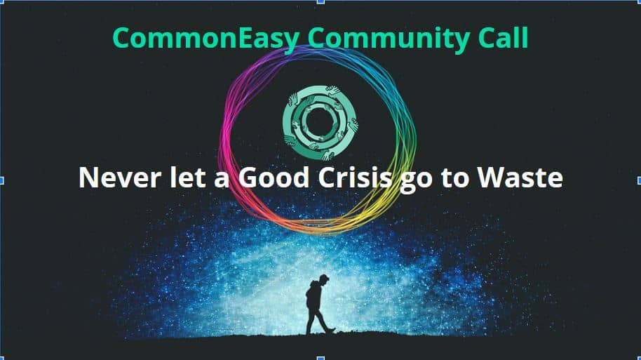 Never waste a Good Crisis Common
